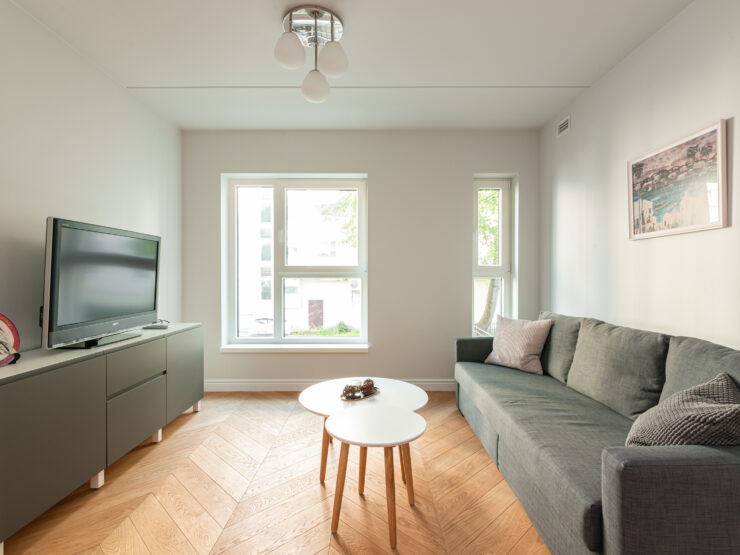 New guest apartment in the heart of city, Kaupmehe street